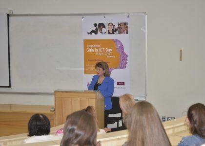 AUA Celebrates International Girls Day in ICT