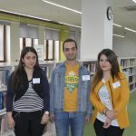 Internship for Master Students of State Pedagogical University at AGBU Papazian Library