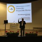 """AUA Center for Responsible Mining Wins """"Best Scientific Paper"""" Award at the 1st International Conference on Mining in Europe"""