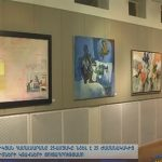 Armenia TV Features the AUA 25th Anniversary Art Exhibition Opening Night