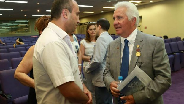 """Just Call Me Jim Costigian"". Congressman Jim Costa of 'The Land of William Saroyan' Speaks at AUA,  Announces Establishment of Kashian Endowment"