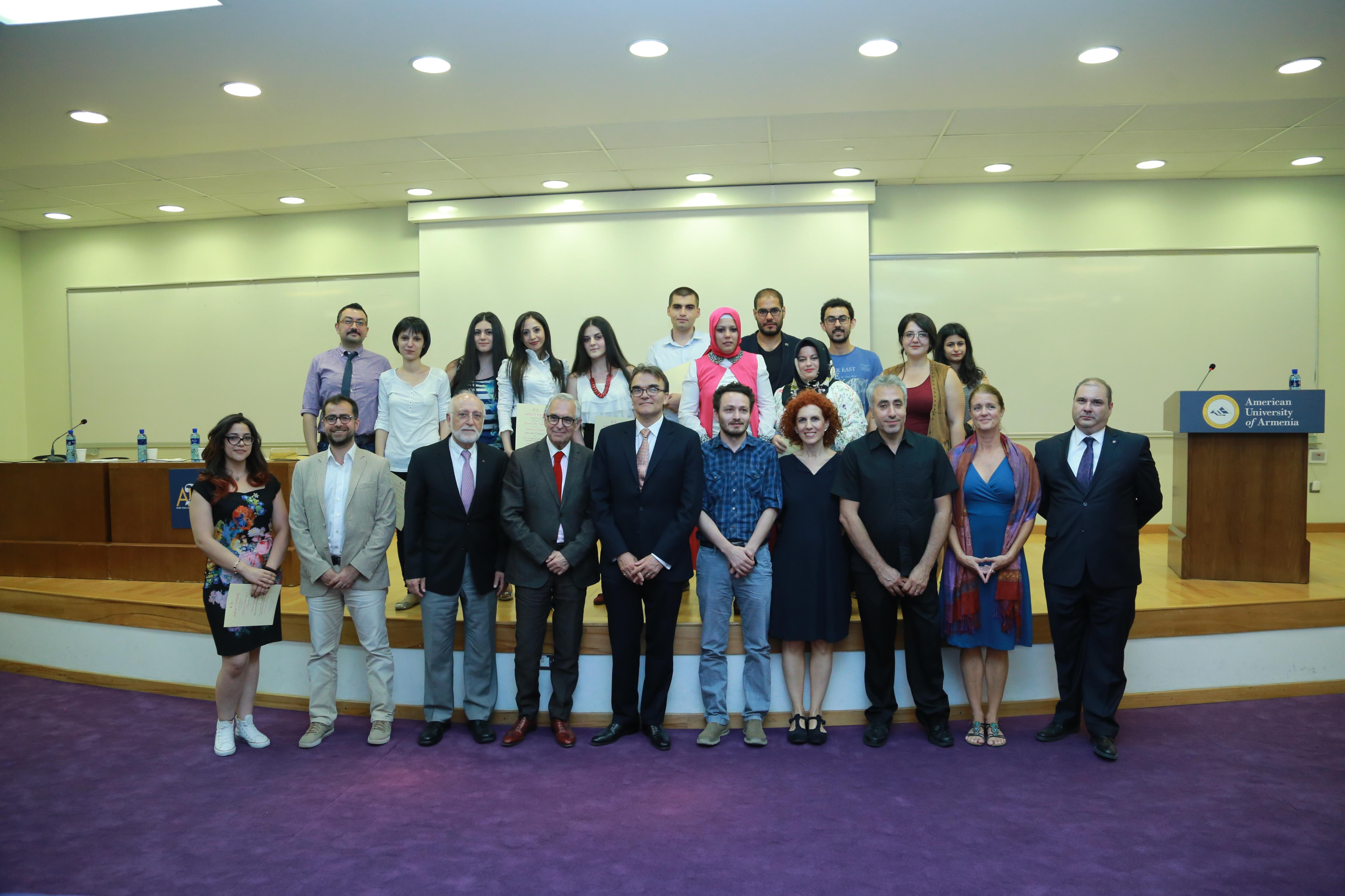 Armenian and Turkish Students Build a Bridge of Understanding