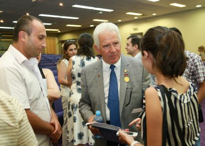 The Armenian Media Features US Congressman Jim Costa During His Public Lecture at AUA