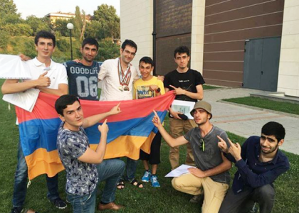 AUA Students Bring Home Medals from the International Mathematics Competition for Students in Blagoevgrad, Bulgaria