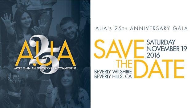 AUA 25th Anniversary Gala Black Tie Event In Los Angeles