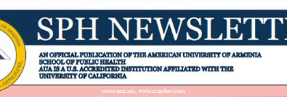 School of Public Health Newsletter, Issue 17, 2016