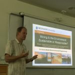 Mining and the Environment Talk by Gavin Mudd of Monash University