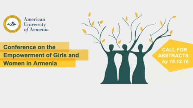 AUA Presents a Conference on The Empowerment of Girls and Women in Armenia