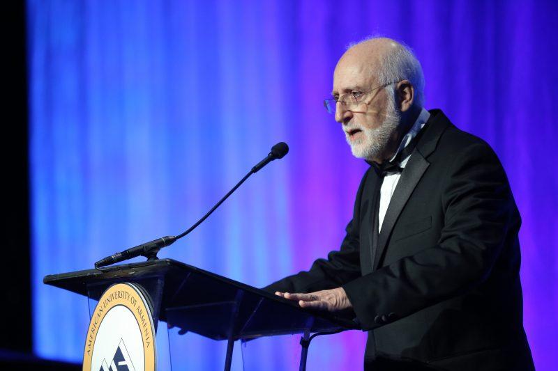 Dr. Armen Der Kiureghian (AUA President and Co-Founder)