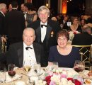 Gerald and Patricia Turpanjian (Gala Benefactors) with Dr. Lawrence H. Pitts (Chair of AUA  Board of Trustees)