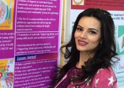 AUA Alumna Gohar Abelyan MPH (2015) Published Her MPH Project in the Journal of Phlebology