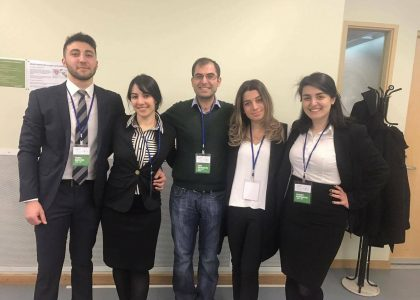 LL.M. Program Students Participate in the Armenian National Round of Philip C. Jessup International Law Moot Court Competition