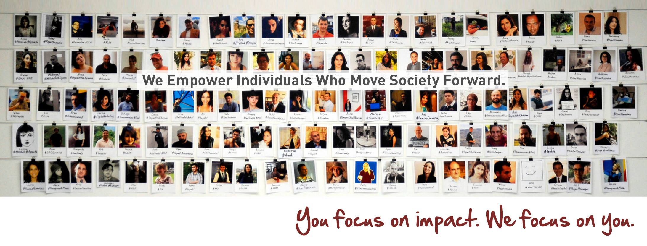AUA / Impact Hub Yerevan Fellowship Program Announces Team