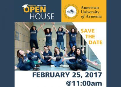 AUA Graduate Programs Open House
