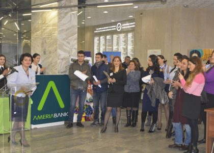 AUA Students Meet with Representatives from Eleven Banks at Career Fair