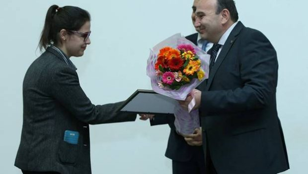 "MPH Student Sarah Ghazarian Awarded ""Best Student"" in the Nationwide Competition by RA Ministry of Education and Science"