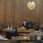 Armenian Parliament Deputy Speaker Eduard Sharmazanov Met with AUA Students and Faculty
