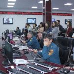 AUA Students Visited Ministry of Emergency Situations