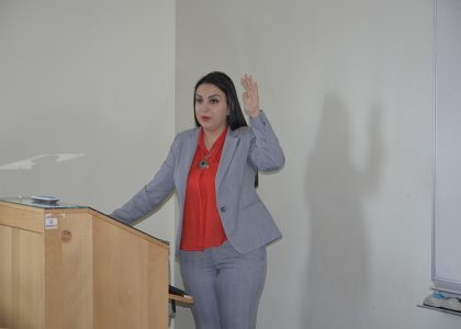 Public Lecture: Energy Risk Management by Tatevik Margaryan (ME IESM '11)