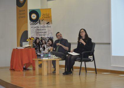 Dawn MacKeen, Author of The Hundred Year Walk: An Armenian Odyssey, Visits AUA