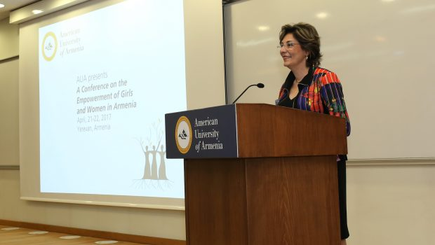 AUA Hosts First Conference on Empowerment of Girls and Women in Armenia