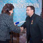 AUA Lecturer Raffi Meneshian Receives Boghos Noubar Medal