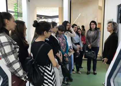 AUA Hosts First Year Students from Armenian State Pedagogical University