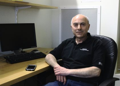 AUA Zaven & Sonia Akian College of Science and Engineering Welcomes Adjunct Lecturer David Davidian