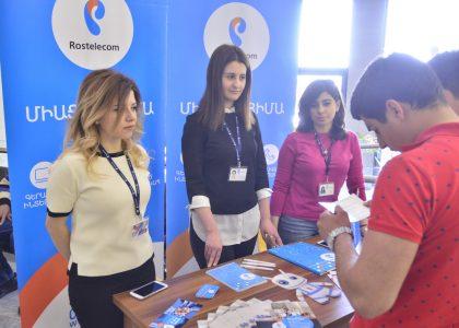 AUA Career Fair Brings Students Together with Major Companies in Armenia