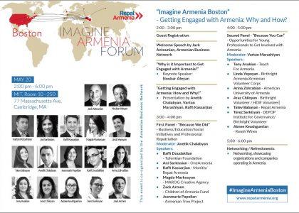 AUA to Participate in Imagine Armenia Forum in Boston