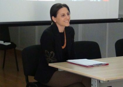 AUA Researcher Valentina Gevorgyan (MPSIA '11) Becomes a Doctoral Candidate in Political Science at University of Fribourg