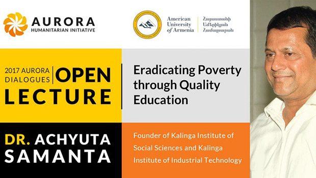2017 Aurora Dialogues Open Lecture: Dr. Achyuta Samanta