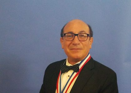 AUA Pillar and One of the MPH Program Founders Ara Tekian Receives Ellis Island Medal of Honor