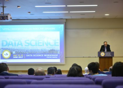 Data Science Workshop Organized by Zaven & Sonia Akian College of Science and Engineering