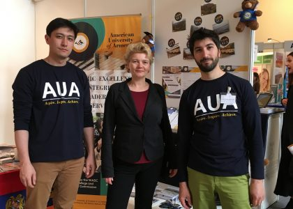 AUA at Studyworld 2017 in Berlin