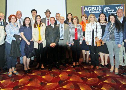 Provost Dr. Randall Rhodes Delivers Presentation at AGBU London