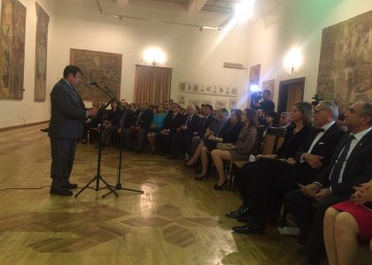 CHSS Dean Thomas Samuelian Delivers Address at German Music Gala Evening