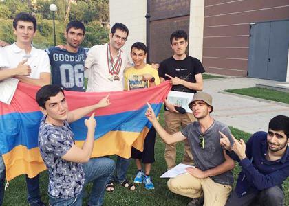 AUA Student Artyom Kosyan Wins Bronze Medal at International Math Olympiad