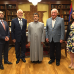 AUA PRESIDENT VISITS THE WESTERN DIOCESE