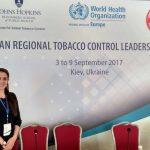 Dr. Arusyak Harutyunyan (MPH '09) Participates in Tobacco Control Leadership Program Organized by Johns Hopkins Bloomberg School of Public Health