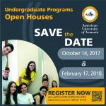 Undergraduate Programs Open House for Fall 2018 Admissions