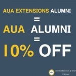 AUA Extension Offers 10% Discount to Alumni