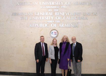 AUA Hosts USAID Armenia in Celebrating its 25th Anniversary