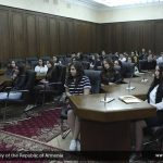 AUA Students Visit National Assembly of Armenia
