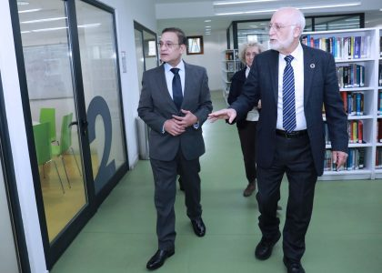 Ambassador of Egypt to Armenia Visits AUA