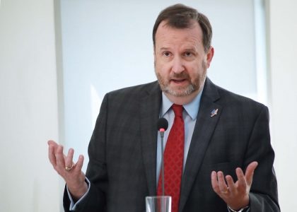 US Ambassador to Armenia Richard M. Mills Jr. Discusses US Foreign Policy at AUA