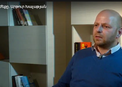 AUA Adjunct Lecturer Artur Khalatyan Shares his Experience Studying Abroad on Armenian Public TV