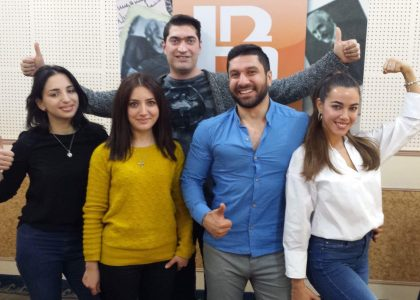 CHSR Researchers Featured on Armenian Public Radio