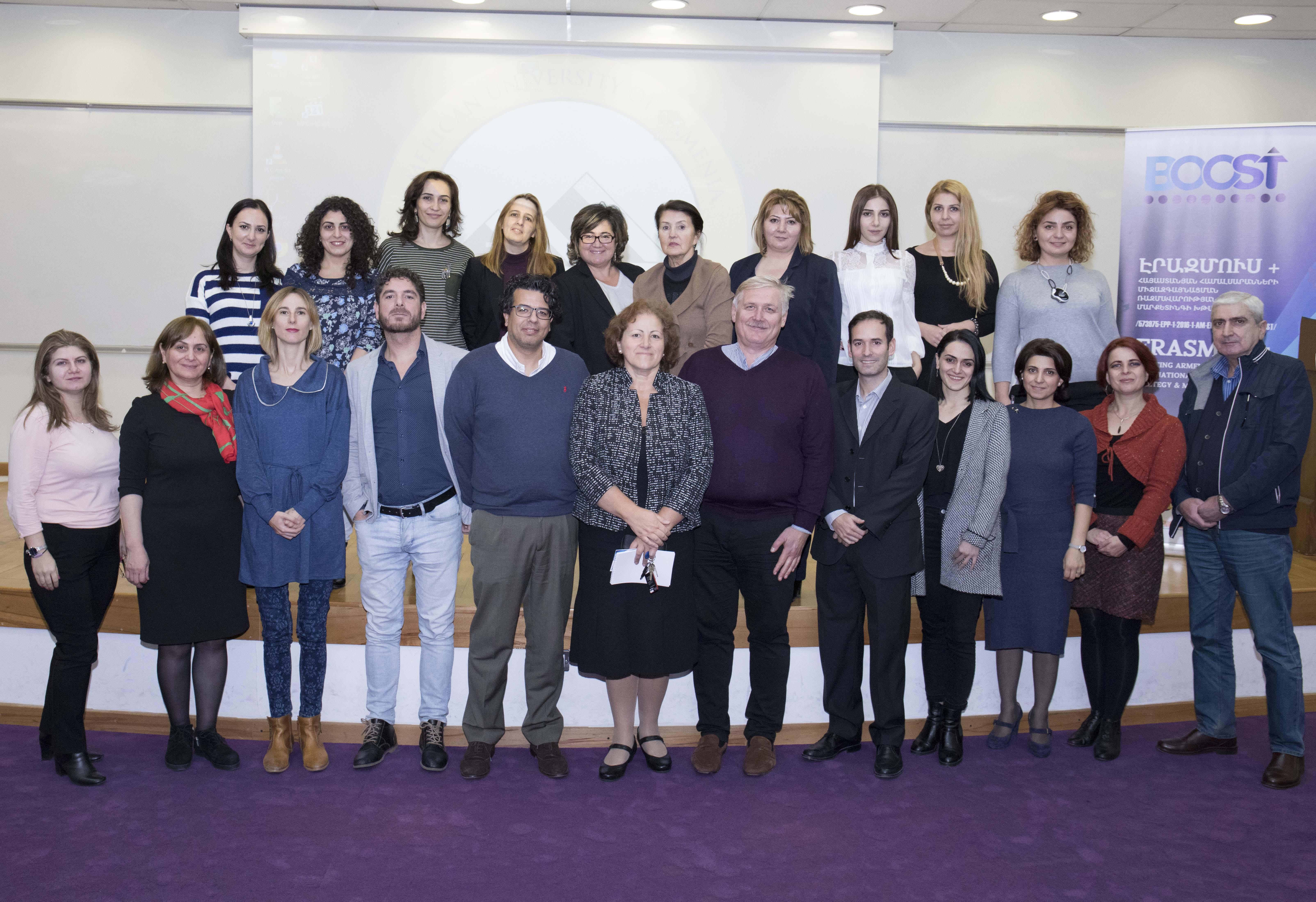 Erasmus+ BOOST Conference Strategizes Internationalization of