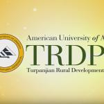 AUA Turpanjian Rural Development Program's New Film Reflects TRDP's 10 Years of Advancement